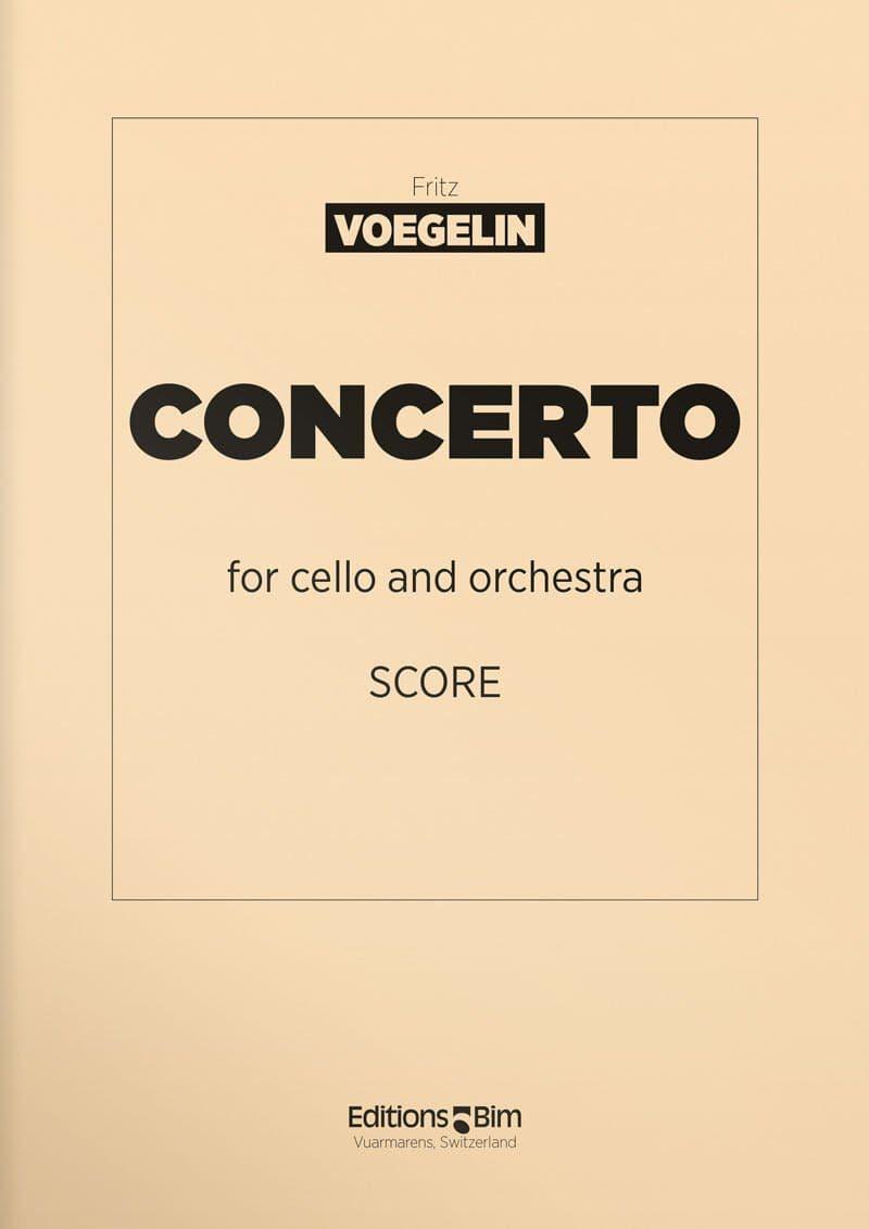 Voegelin  Fritz  Cello  Concerto  Vc2