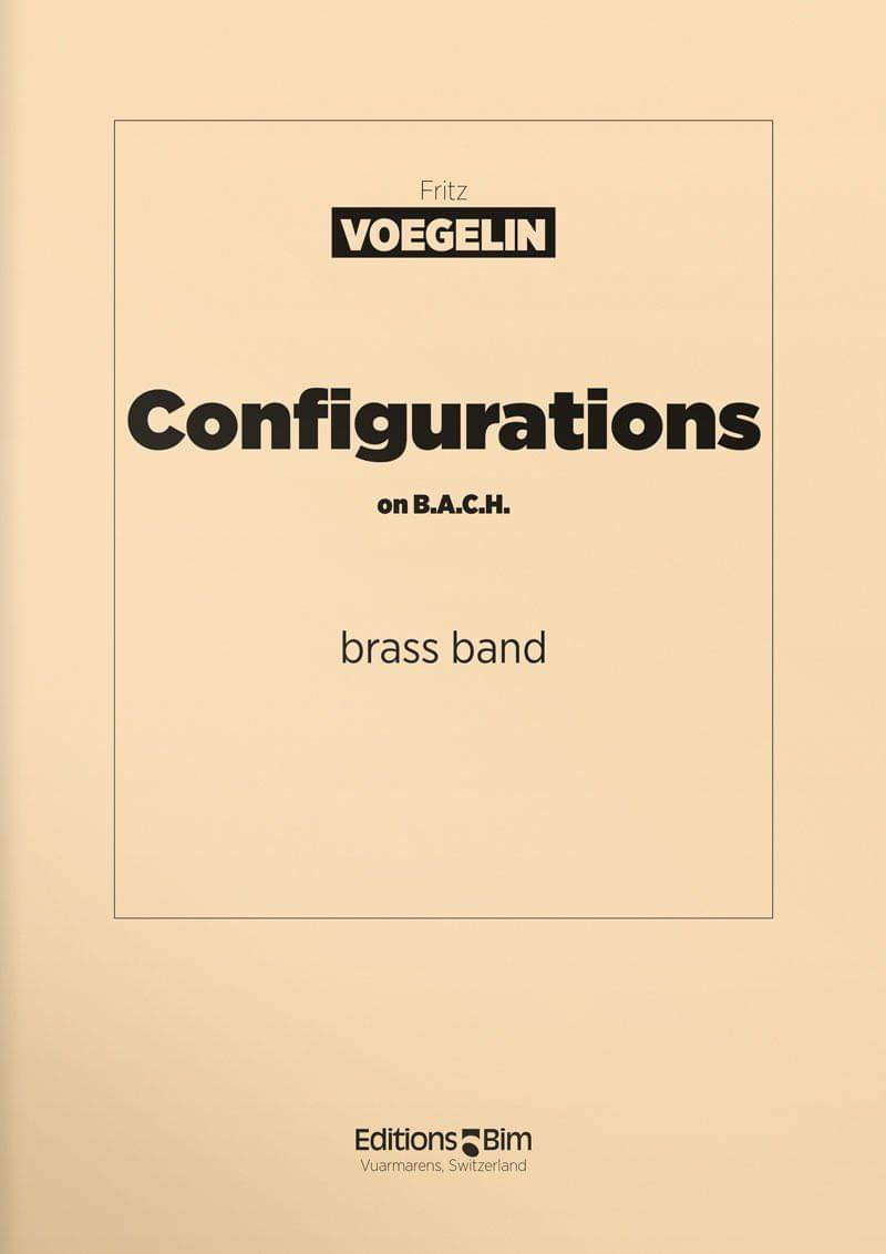 Voegelin  Fritz  Configurations On  Bach  Brb1