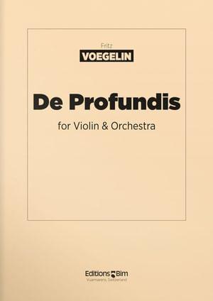 Voegelin  Fritz  De  Profundis  Vn5