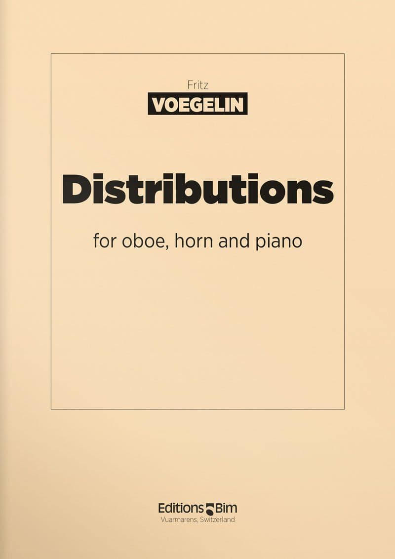 Voegelin  Fritz  Distributions  Co32