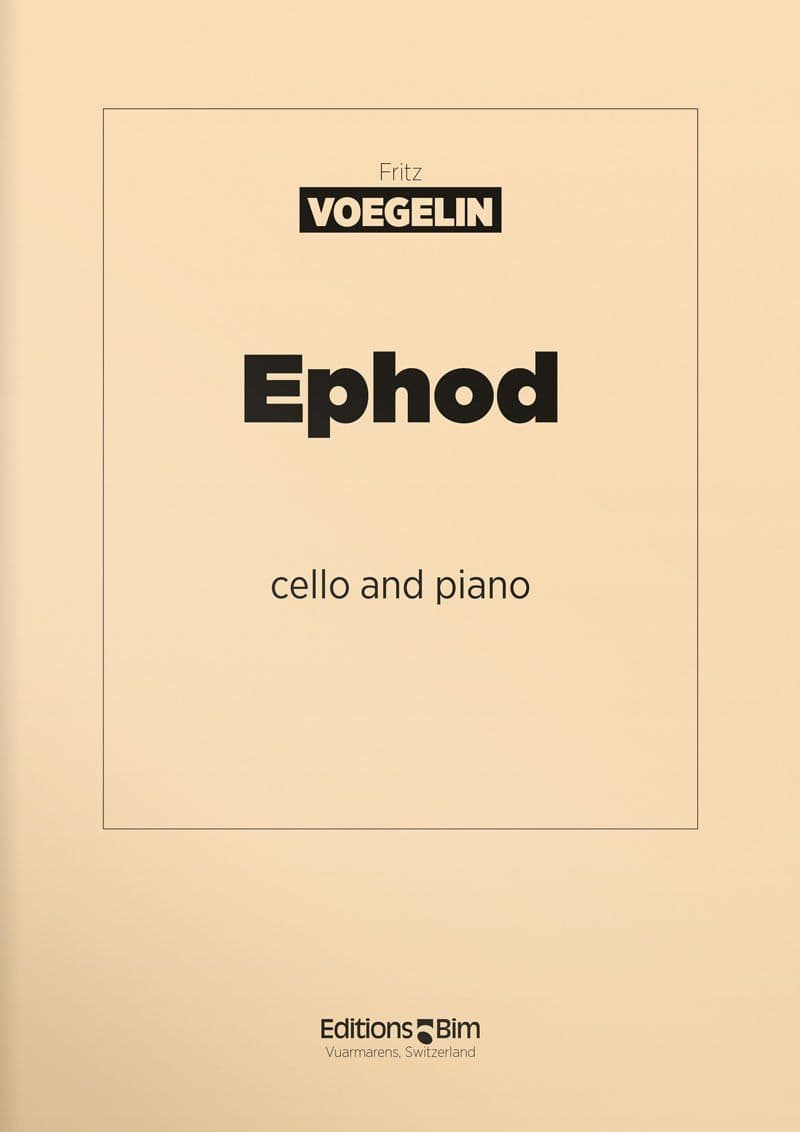 Voegelin  Fritz  Ephod  Vc3