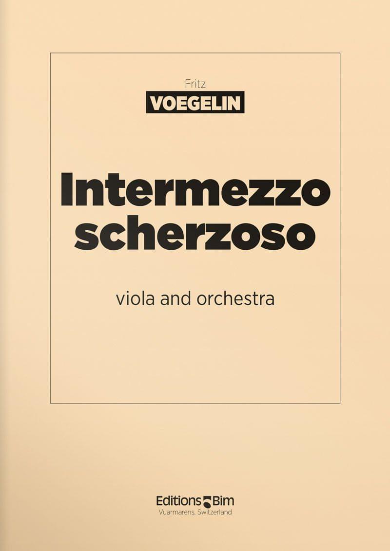 Voegelin  Fritz  Intermezzo Scherzoso  Va6