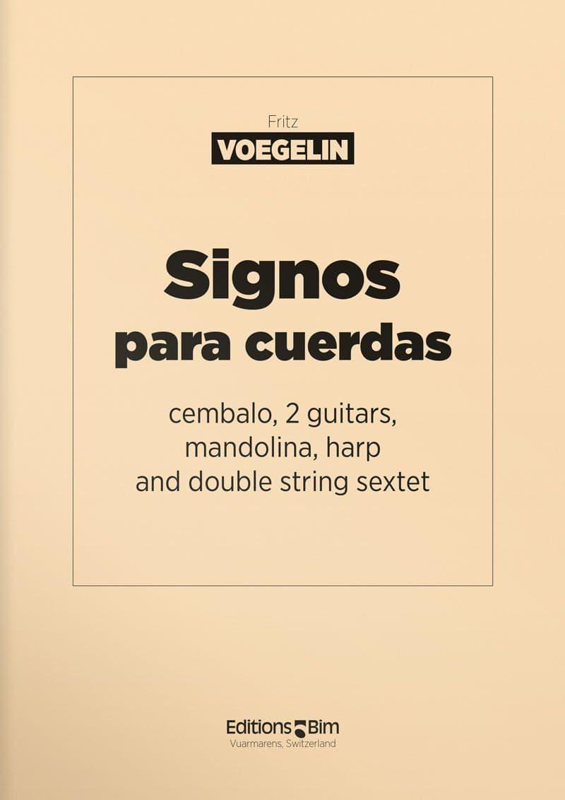 Voegelin  Fritz  Signos Para  Cuerdas  Conc2