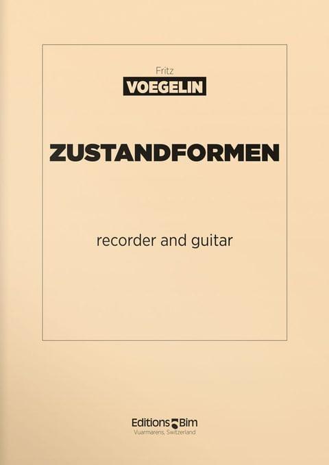 Voegelin  Fritz  Zustandformen  Fl6