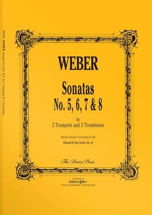 Weber  Sonatas 5 6 7 8  Ens92