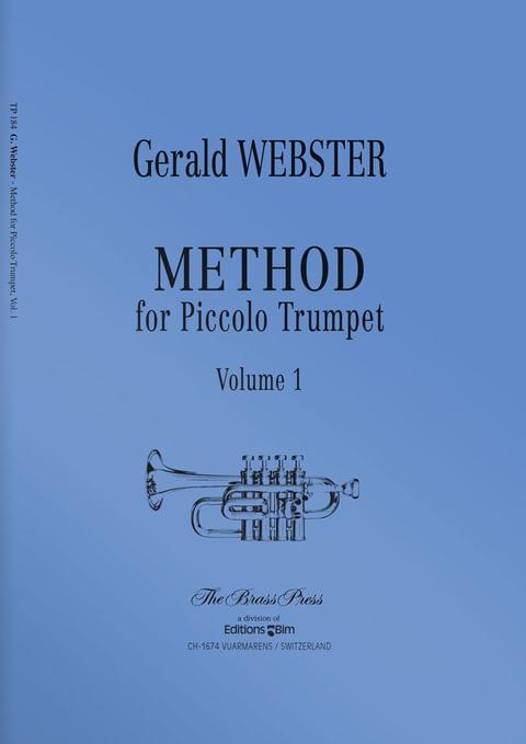 Webster  Gerald  Method For  Piccolo  Trumpet 1  Tp184