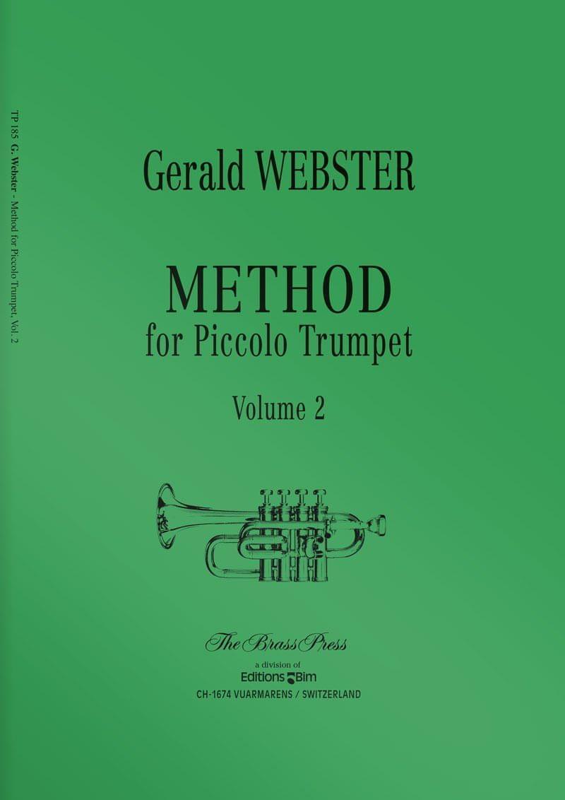 Webster  Gerald  Method For  Piccolo  Trumpet 2  Tp185