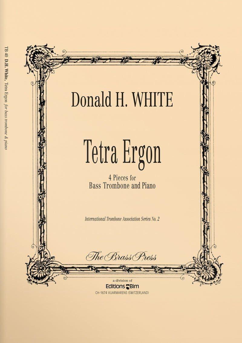 White  Donald  Tetra  Ergon  Tb40