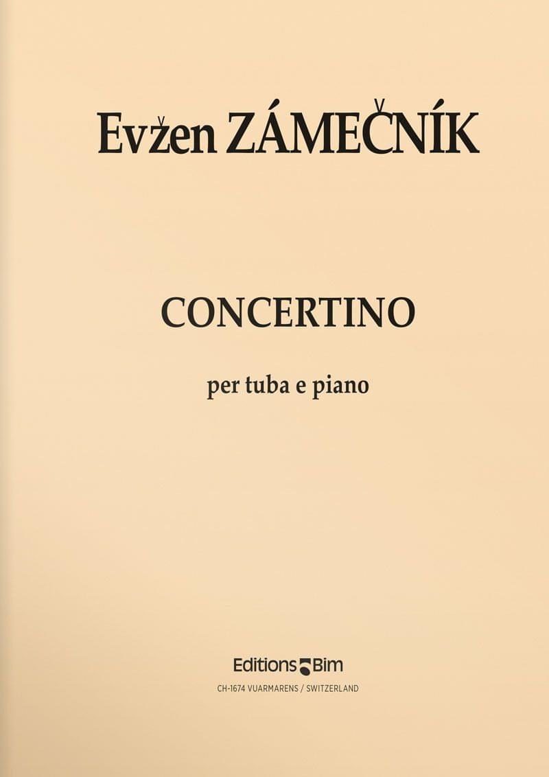 Zamecnik  Evzen  Concertino  Tu35