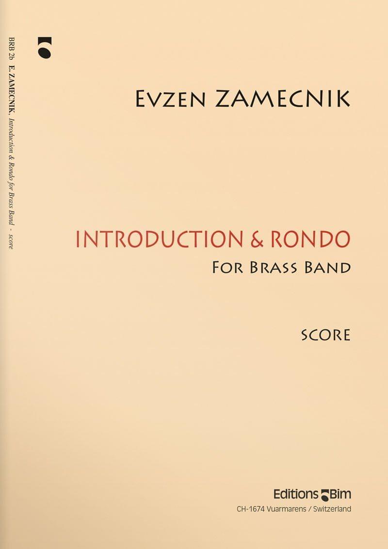 Zamecnik  Evzen  Introduction And  Rondo  Brb2