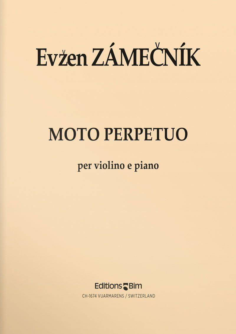 Zamecnik  Evzen  Moto  Perpetuo  Vn8