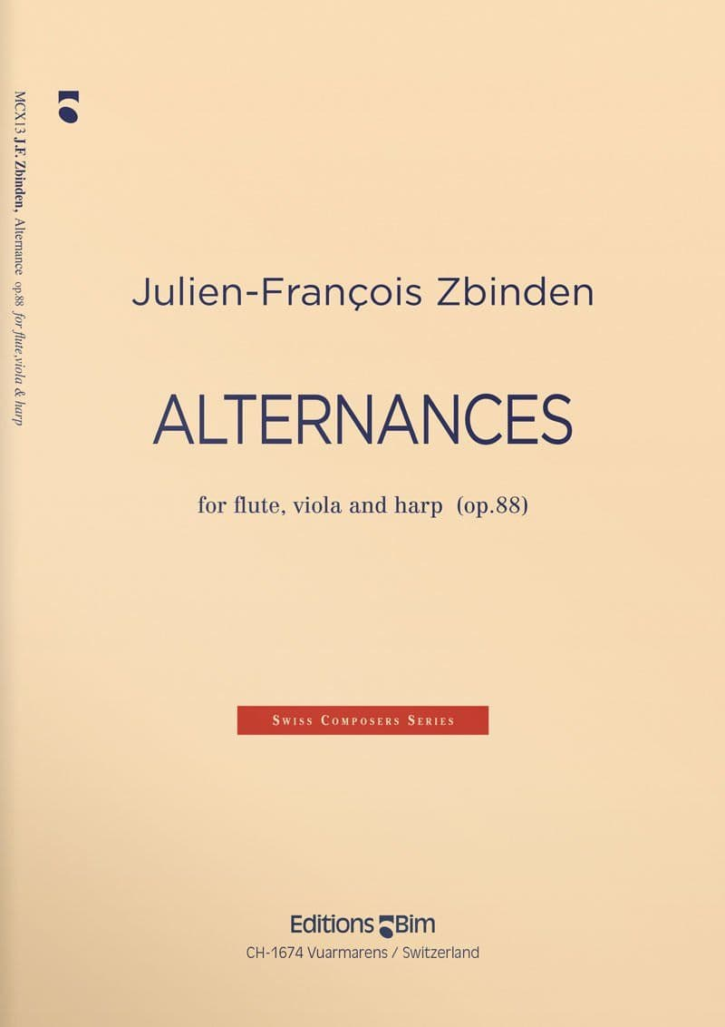 Zbinden  Jf  Alternances  Mcx13