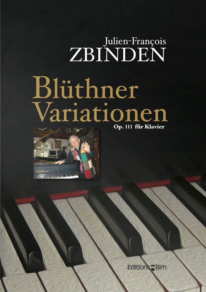 Zbinden  Jf  Bluthner  Variationen  Pno67