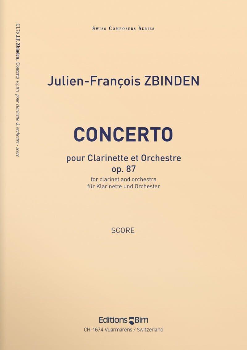 Zbinden  Jf  Concerto  Clarinet  Cl7