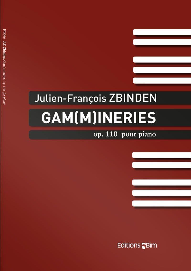 Zbinden  Jf  Gammineries  Pno66