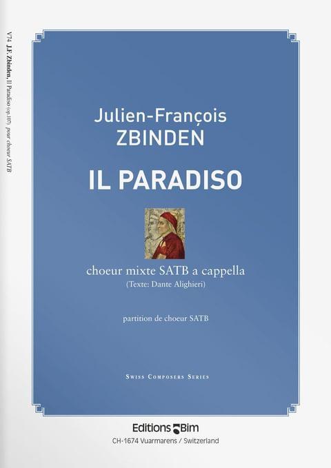 Zbinden  Jf  Il  Paradiso  V74