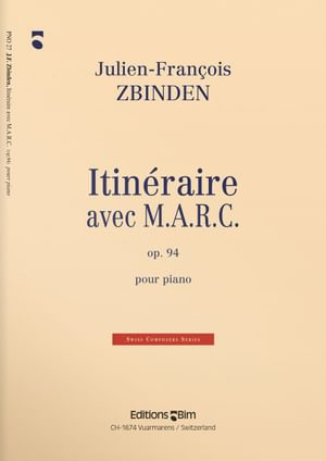 Zbinden  Jf  Itineraire Avec  Marc  Pno27