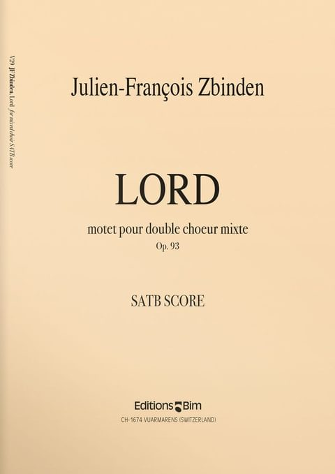 Zbinden  Jf  Lord  V29