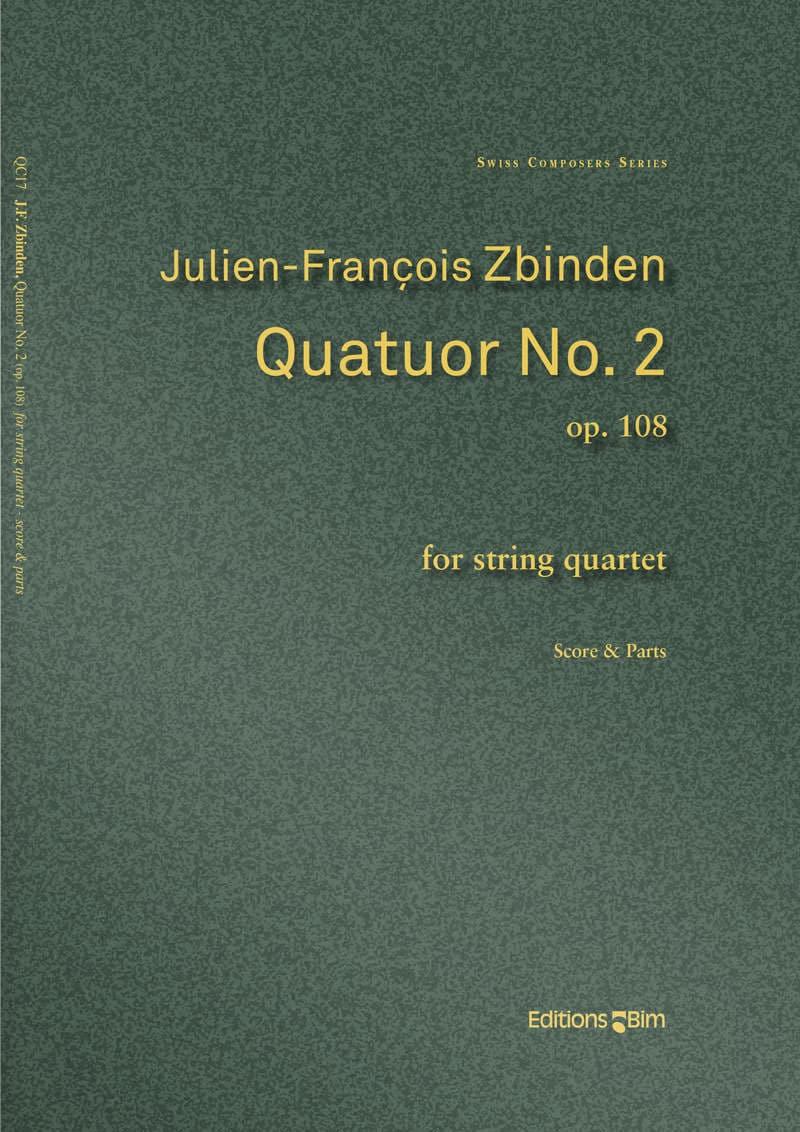 Zbinden  Jf  Quatuor No 2  Qc17