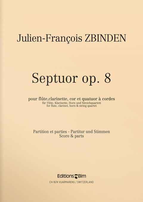 Zbinden  Jf  Septuor  Mcx26