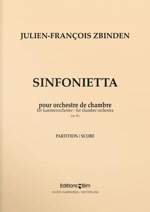 Zbinden  Jf  Sinfonietta  Orch2