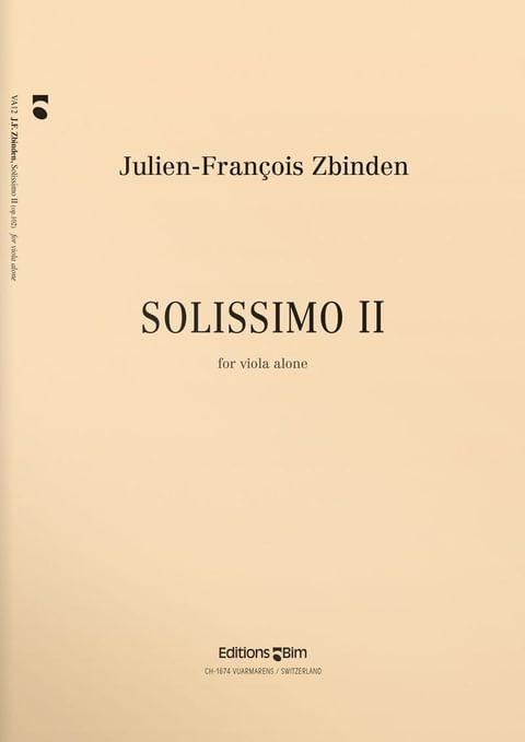 Zbinden  Jf  Solissimo  Ii  Va12