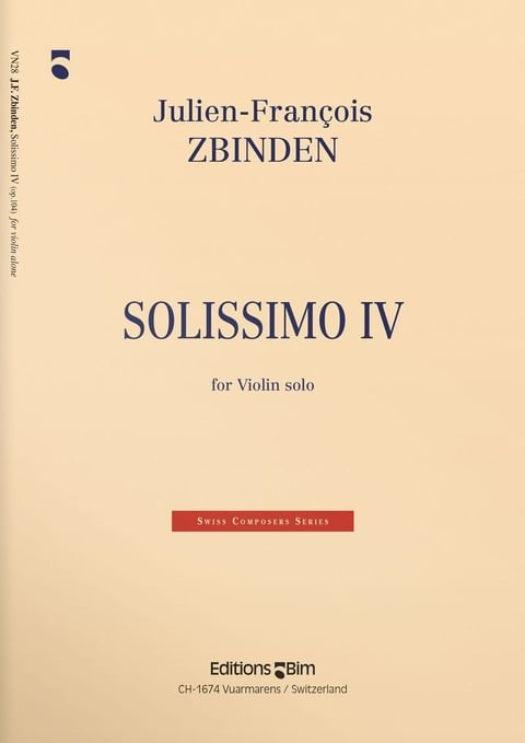 Zbinden  Jf  Solissimo  Iv  Vn28