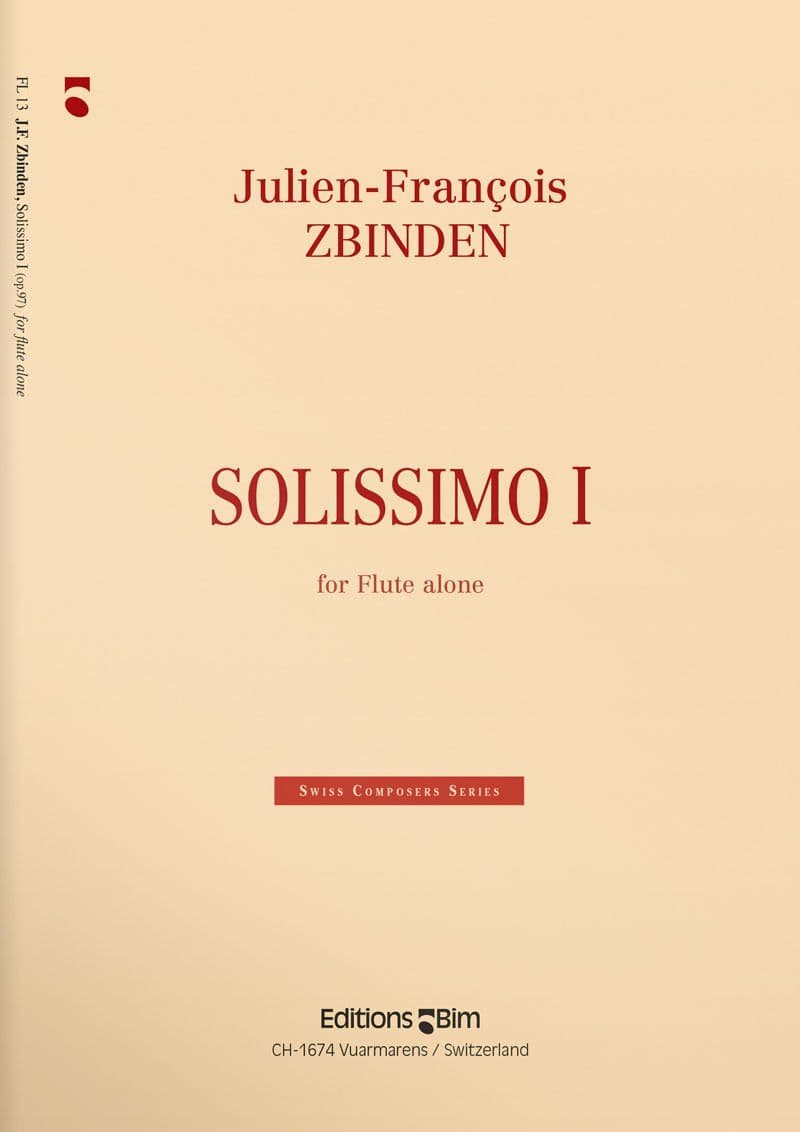 Zbinden  Jf  Solissimo  I  Fl13