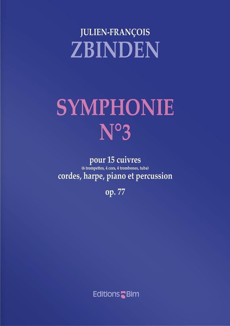 Zbinden  Jf  Symphonie No 3  Orch1