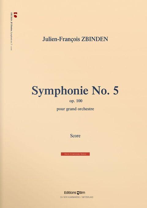 Zbinden  Jf  Symphonie No 5  Orch61