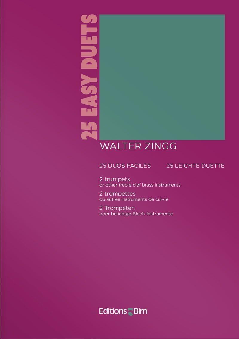 Zingg  Walter 25  Easy  Duets  Tp17