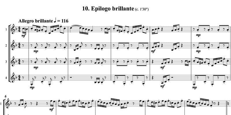 10. Epilogo brillante