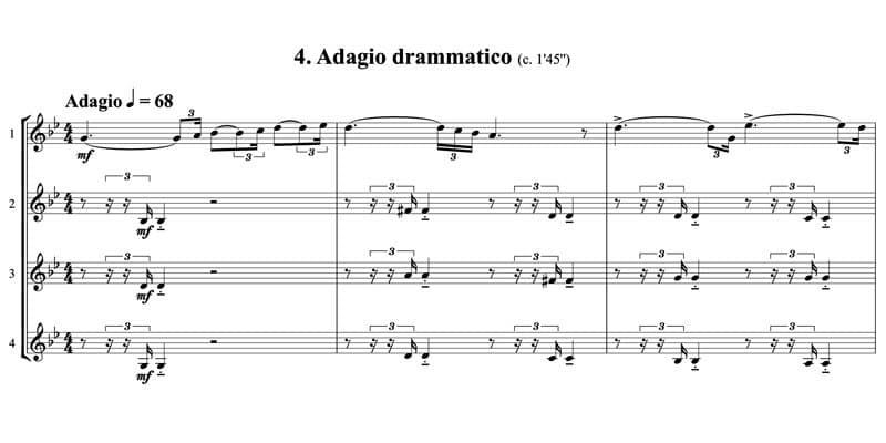 4. Adagio drammatico