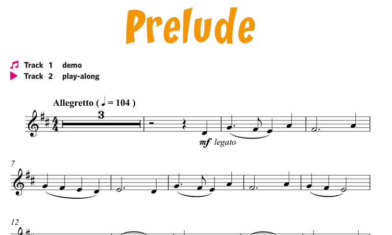 Etienne Crausaz, Tuba Play Along - Prelude