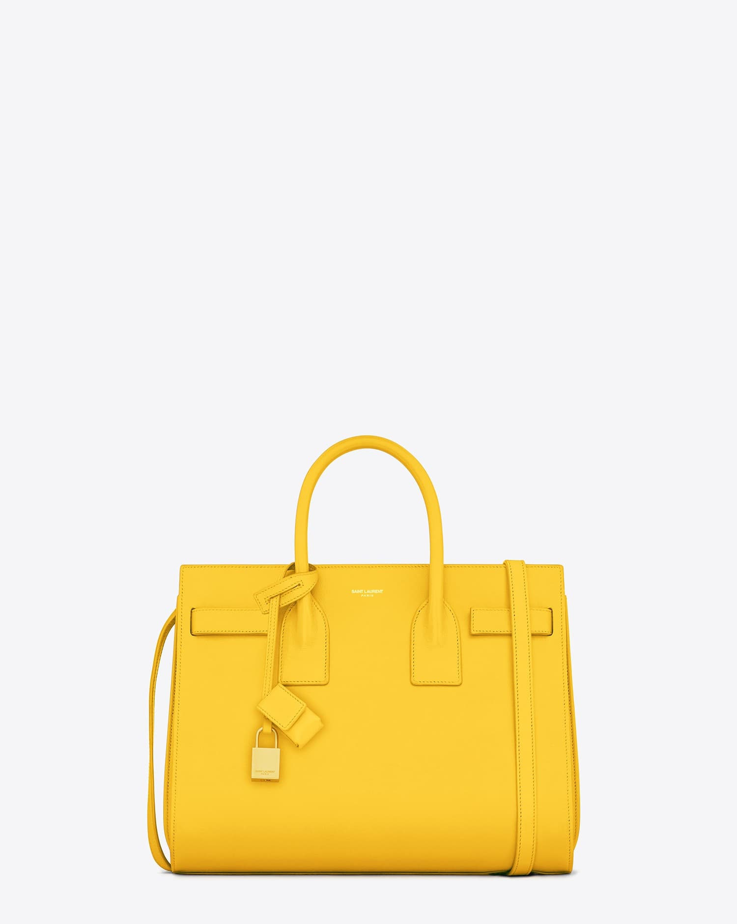 Saint Laurent Yellow Purse (Sac du Jour)