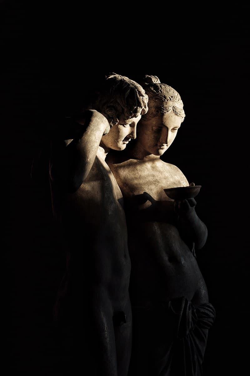 Thorvaldsens Museum Greek Sculpture Couple