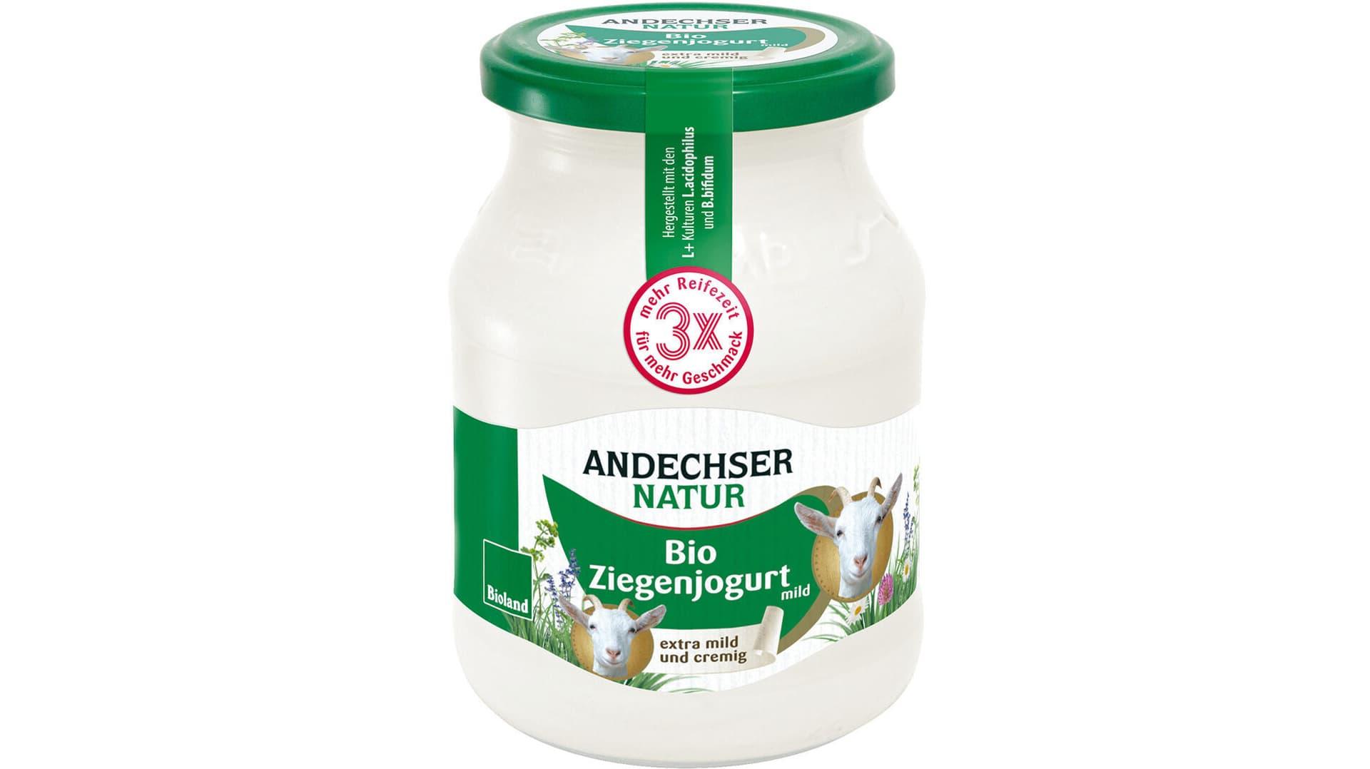 Bio-Ziegenjoghurt von Andechser