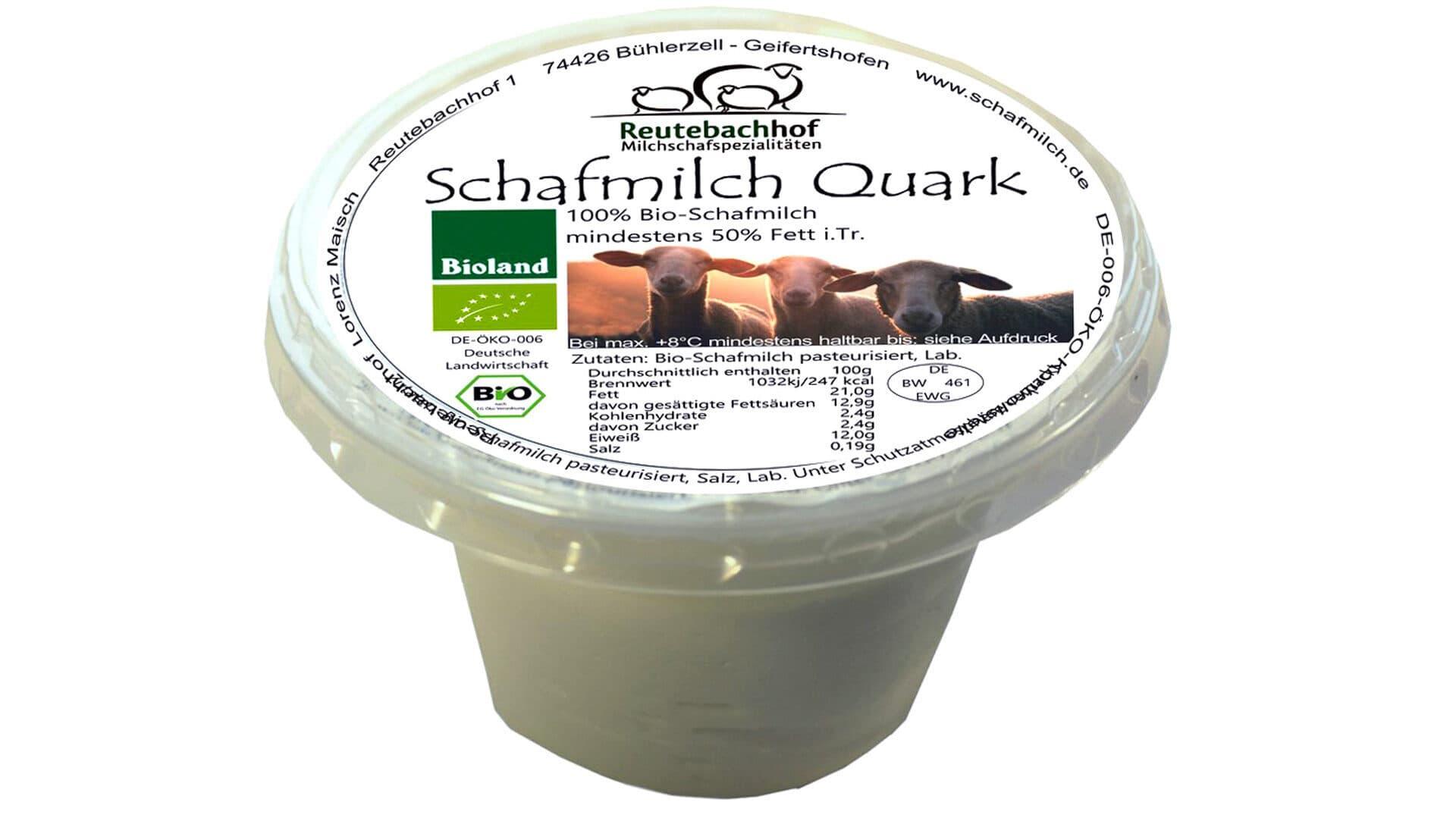 Schafmilch Quark