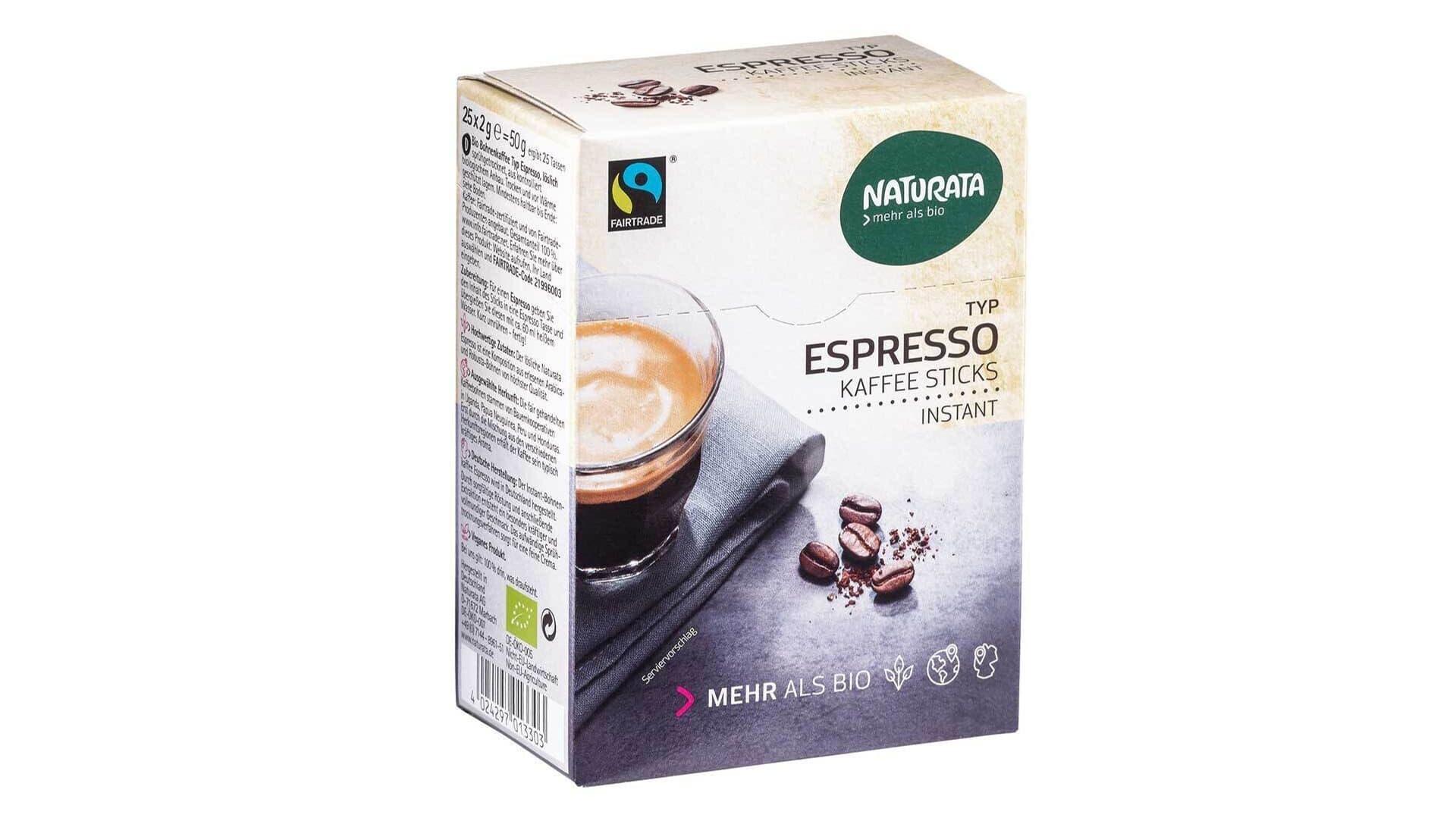 Instantkaffee von Naturata