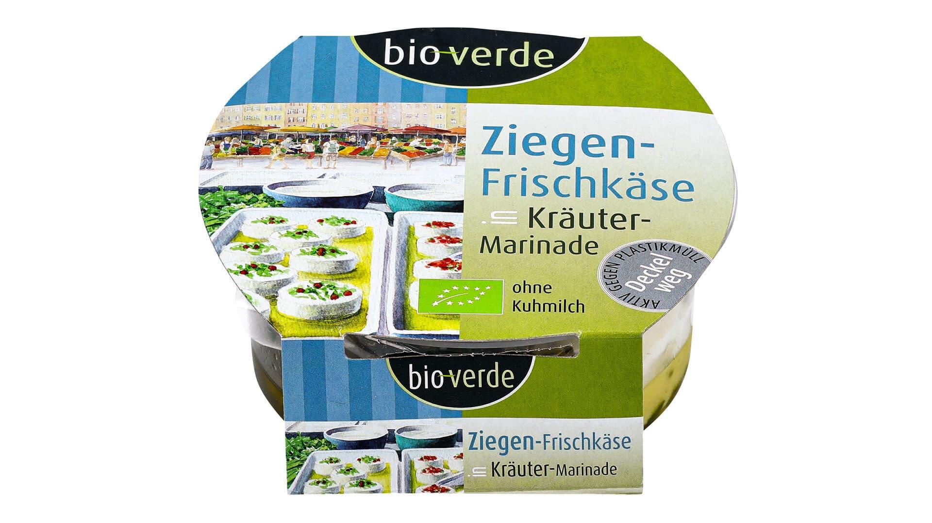 Bio Verde Ziegen-Frischkäse