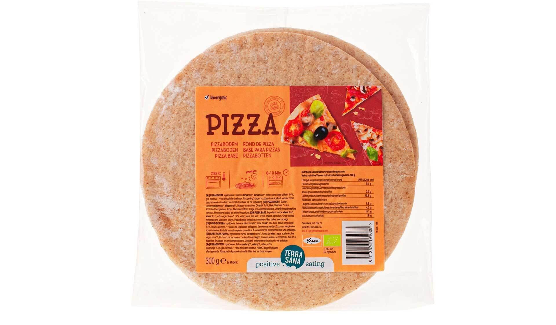 Terrasana pizzaboden