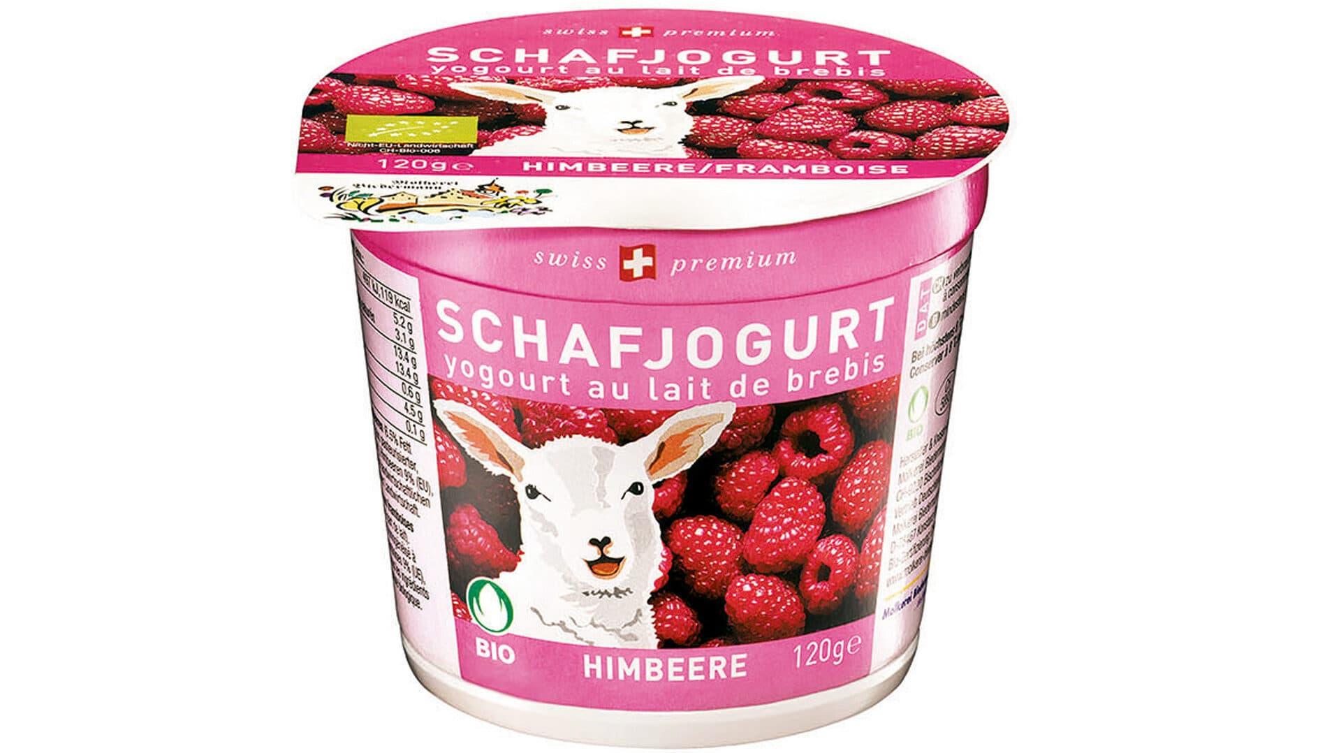 Schafjoghurt Himbeere