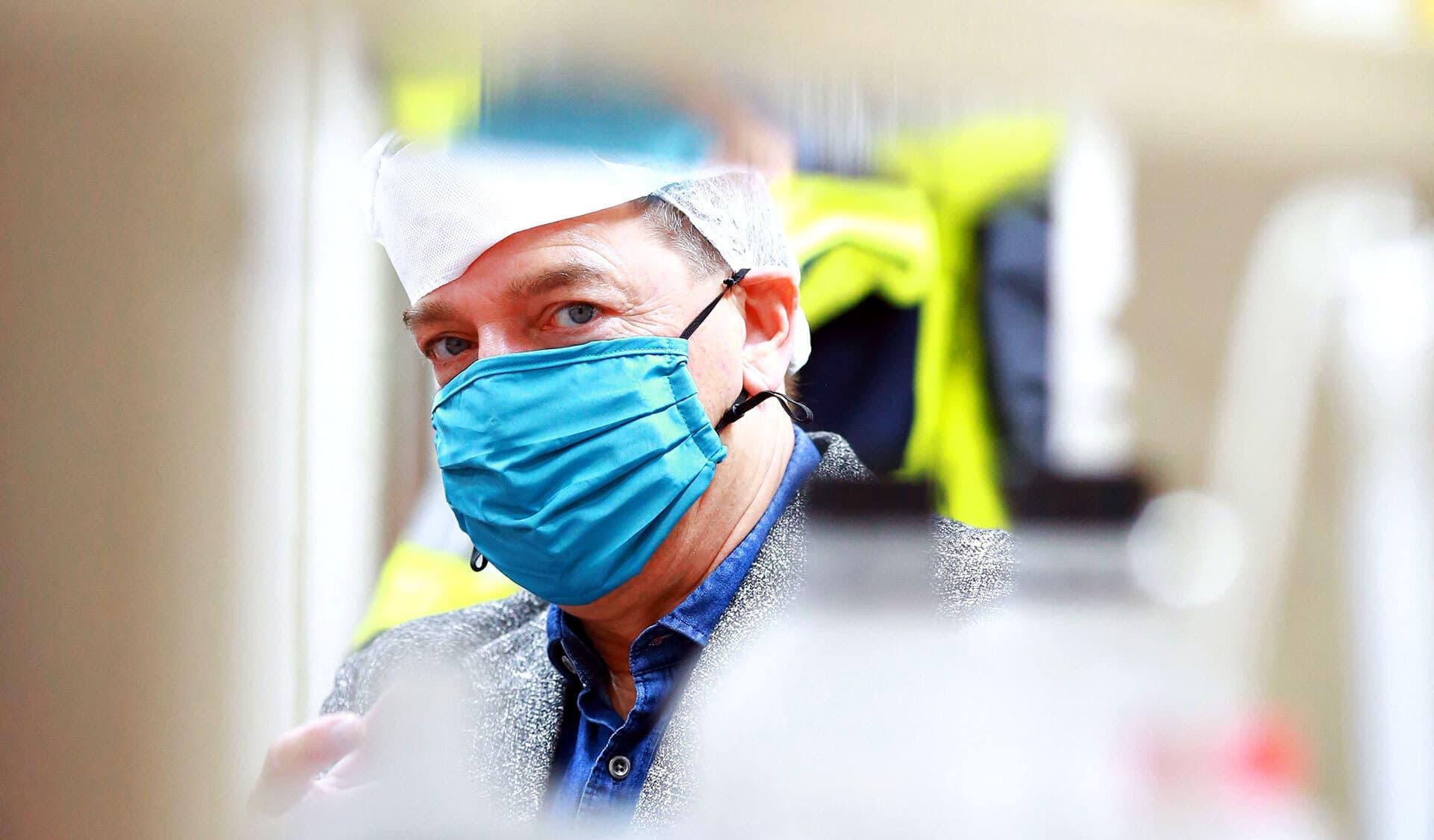 Herr Maier im Labor