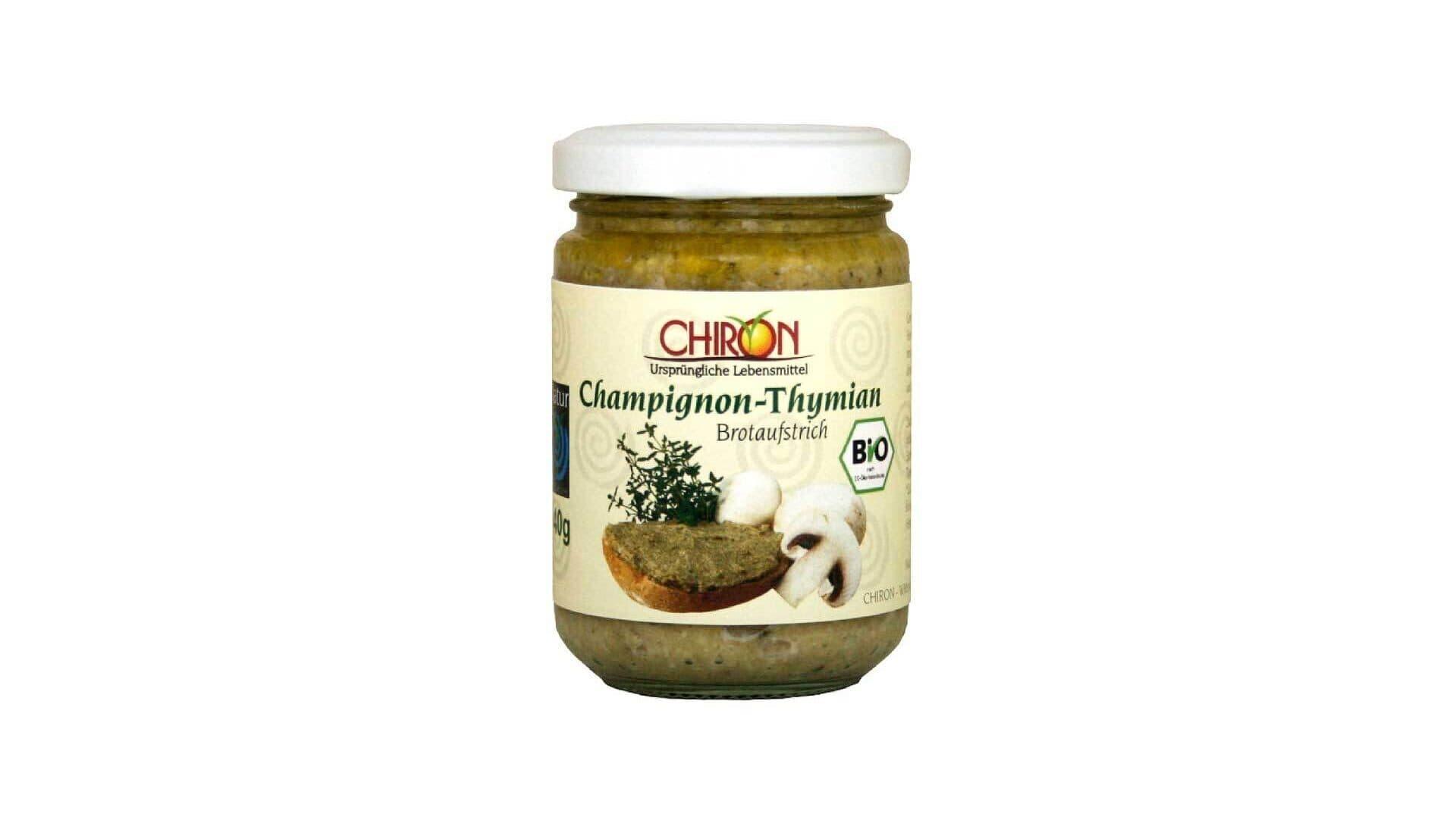 Chiron Aufstrich Champignon-Thymian