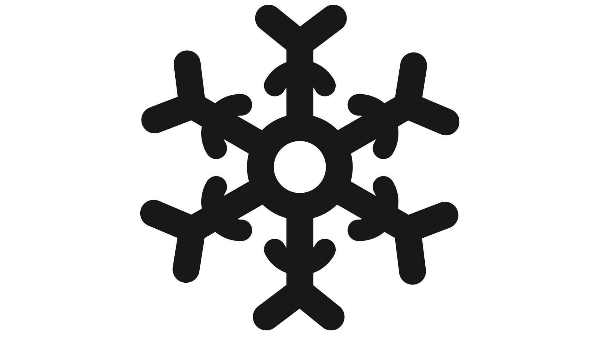 Tiefkühl-Zeichen