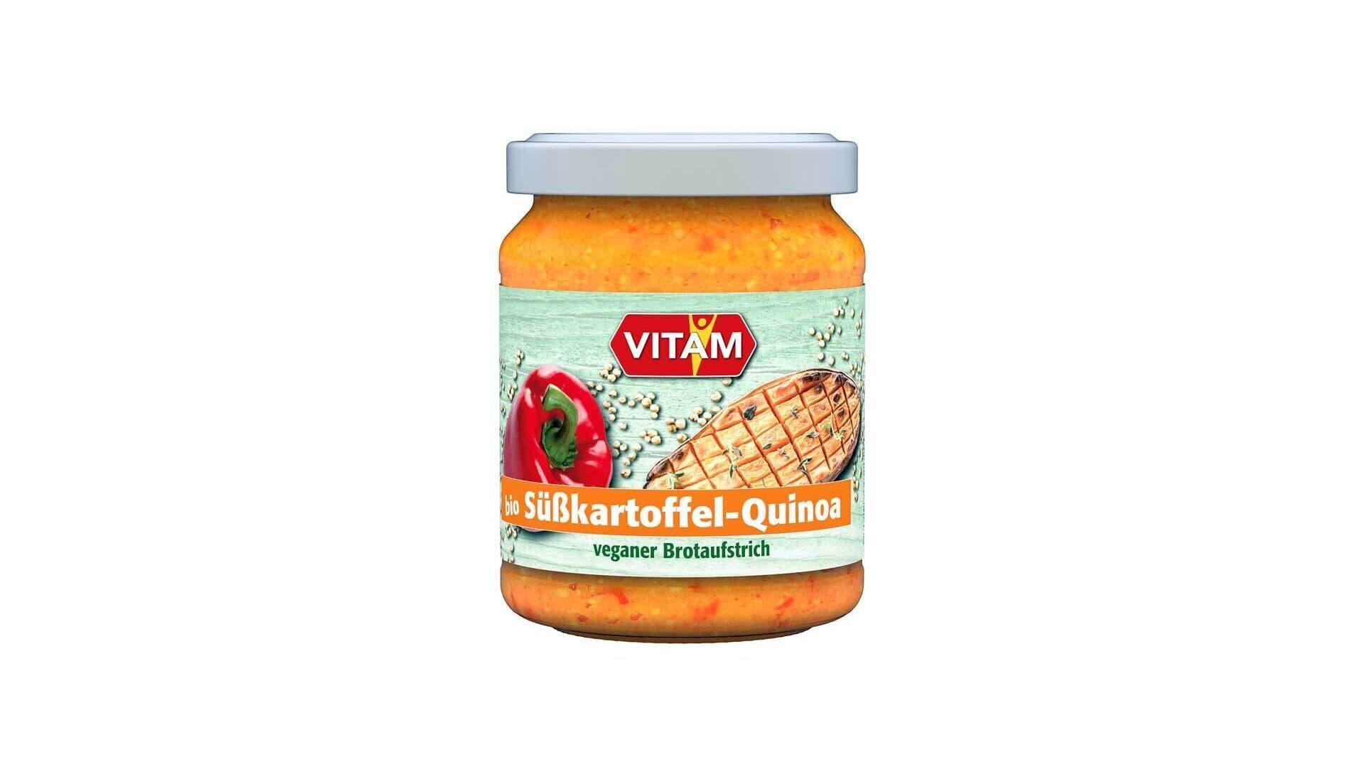 Vitam Aufstrich Süßkartoffel Quinoa