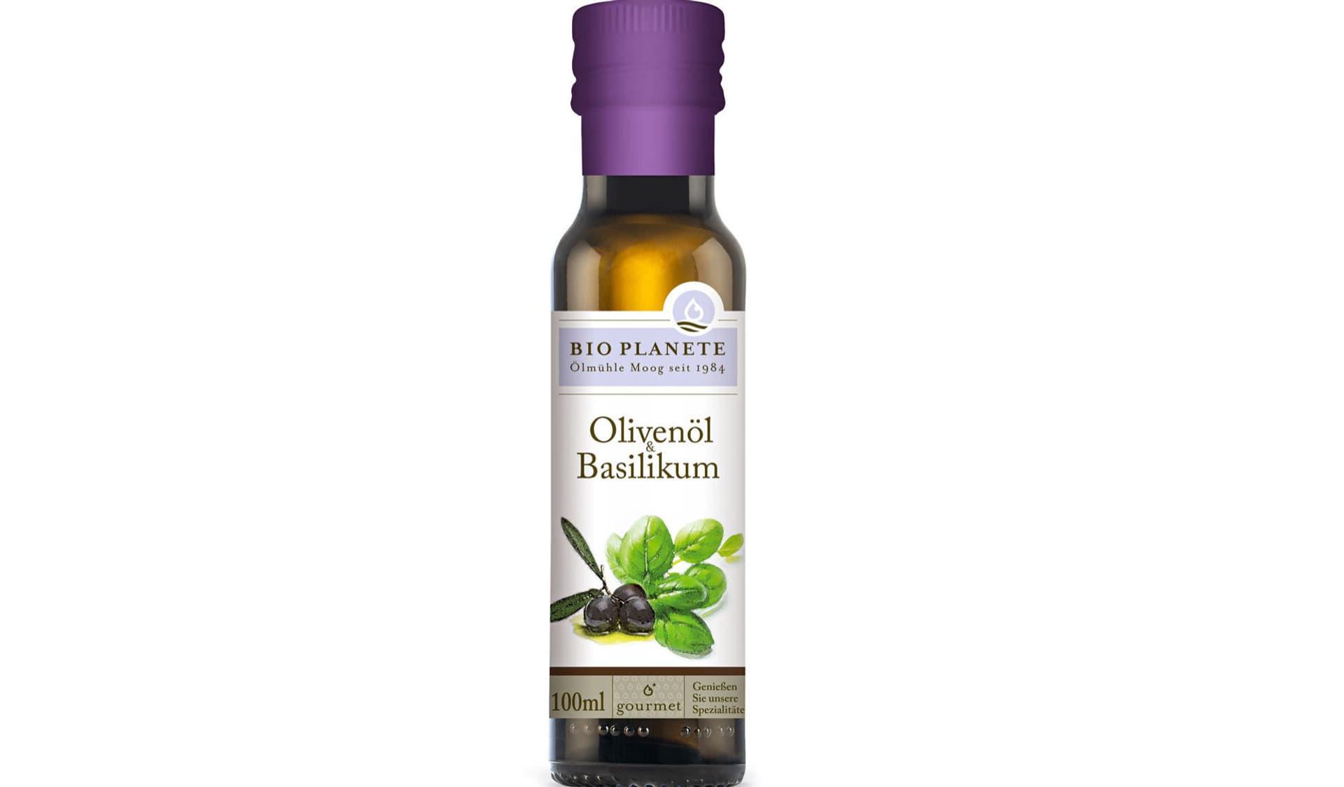 Olivenöl Basilikium Bio Planete