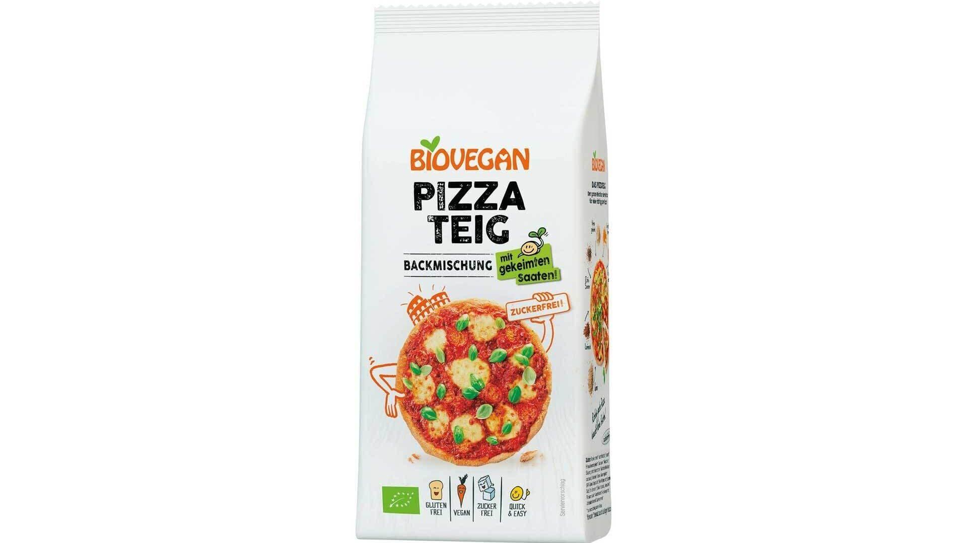 Biovegan Pizzateig
