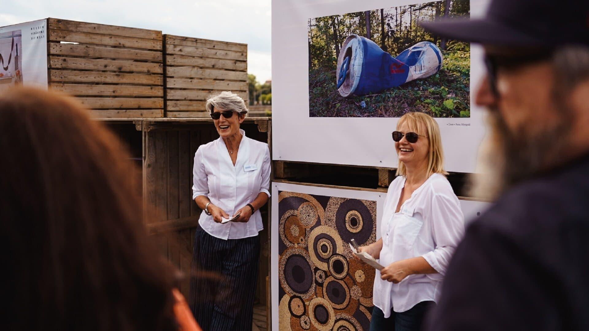 Bio Planete, Ausstellung, Judith Faller-Moog, Antje Steglich