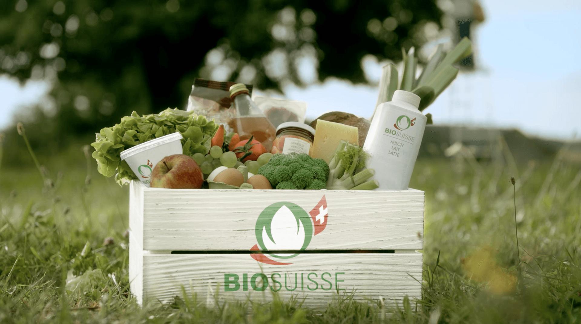 Gemüsekiste Bio Suisse